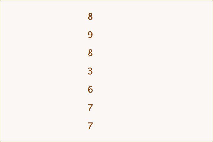 8+9+8+3+6+7+7=48